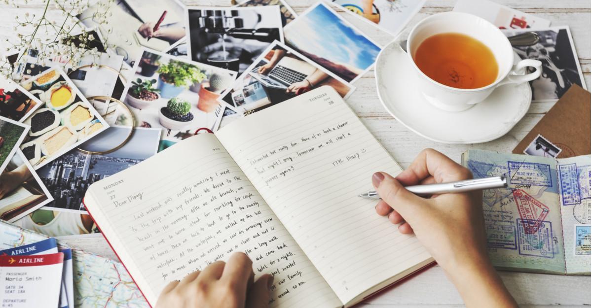 De notat în jurnalul zilnic: 14 însemnări care te vor ajuta să te (re)descoperi