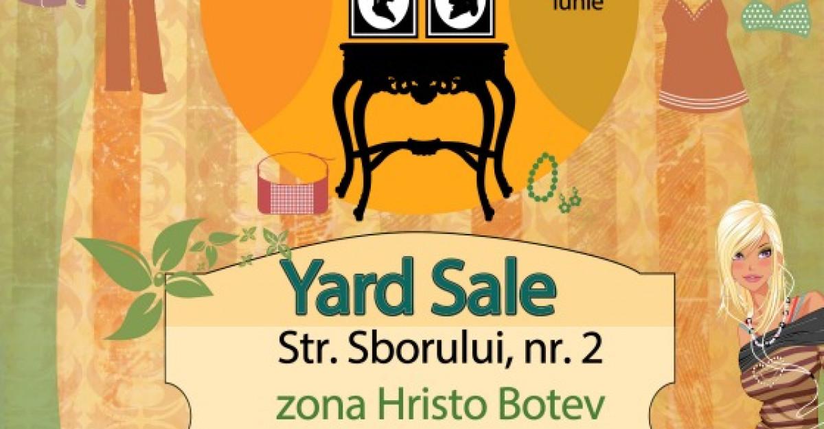 Anuntam cu drag prima editie Yard Sale de vara din acest an!