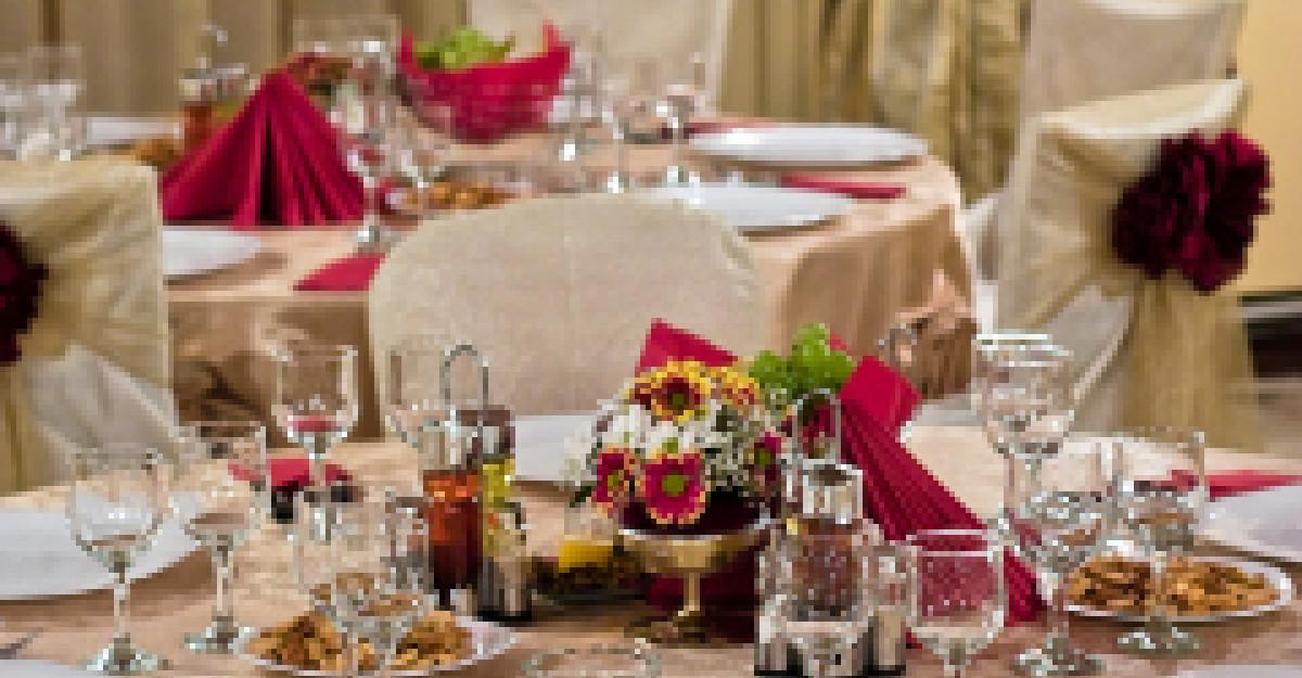 Decoratiuni de nunta: Trucuri in asortarea culorilor
