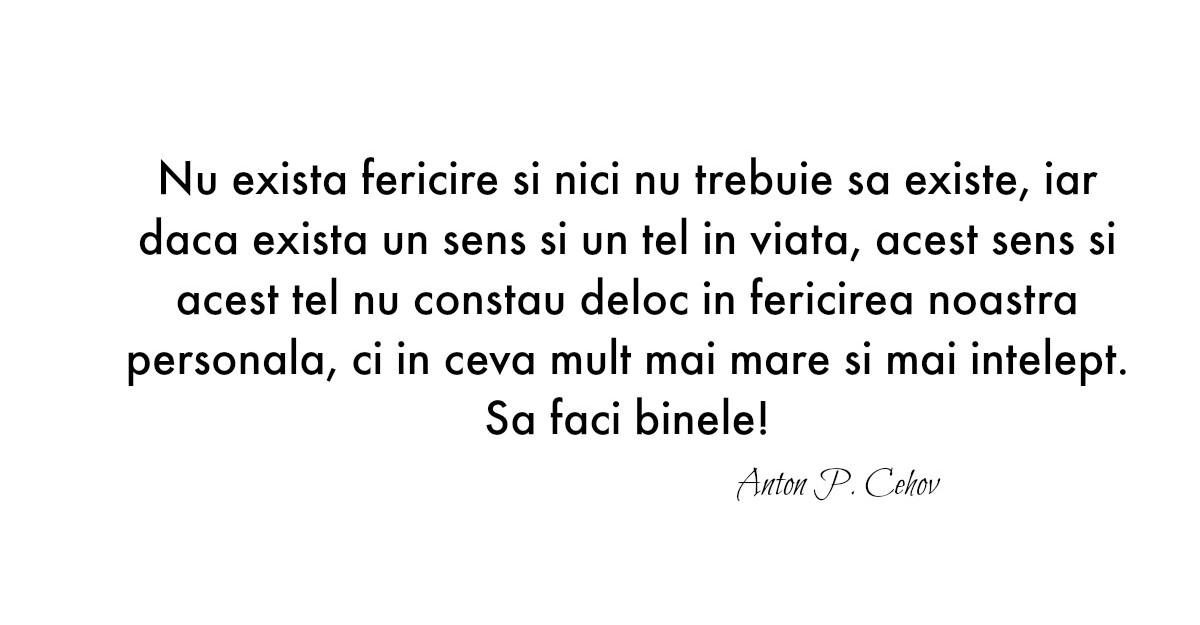 Alfabetul dragostei. Cele mai frumoase citate dupa Anton P. Cehov