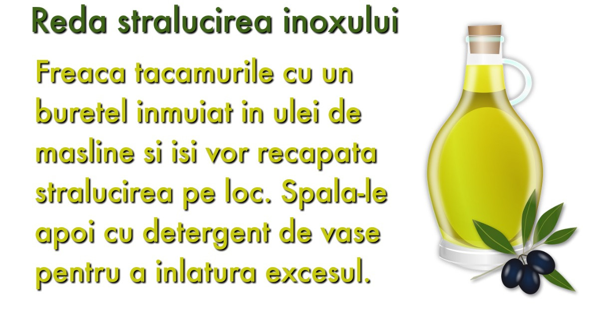 Uleiul de masline: 15 utilizari surprinzatoare