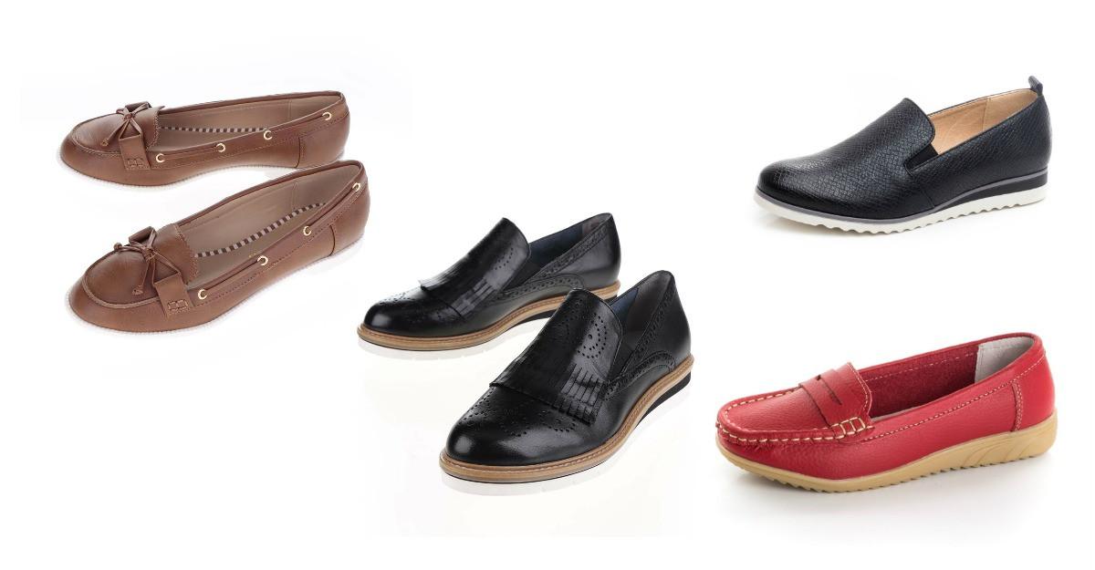 Mocasinii la purtare - modele de pantofi tip mocasini din nou in trend