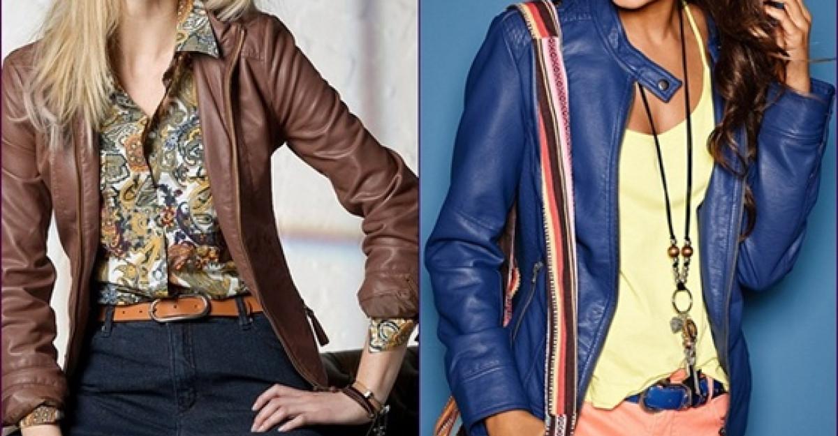 Shopping: Jachete de piele