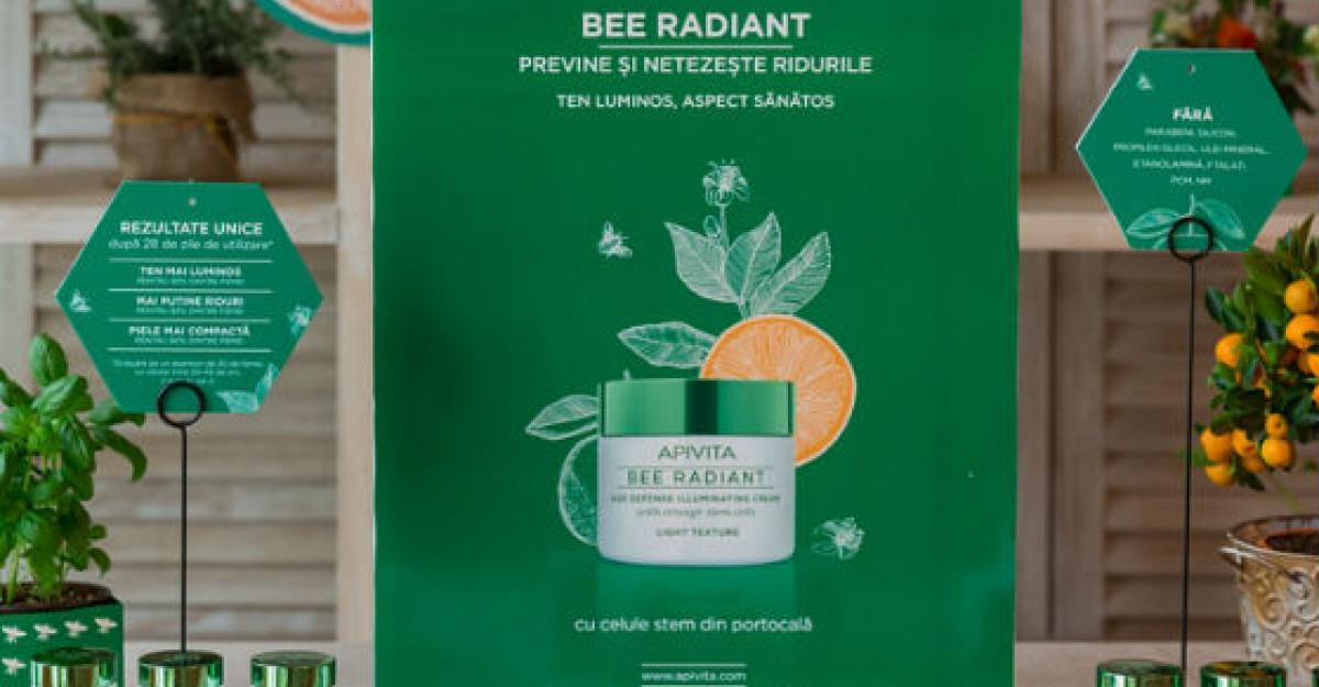 Apivita lanseaza o noua gama pentru ingrijirea tenului - Bee Radiant