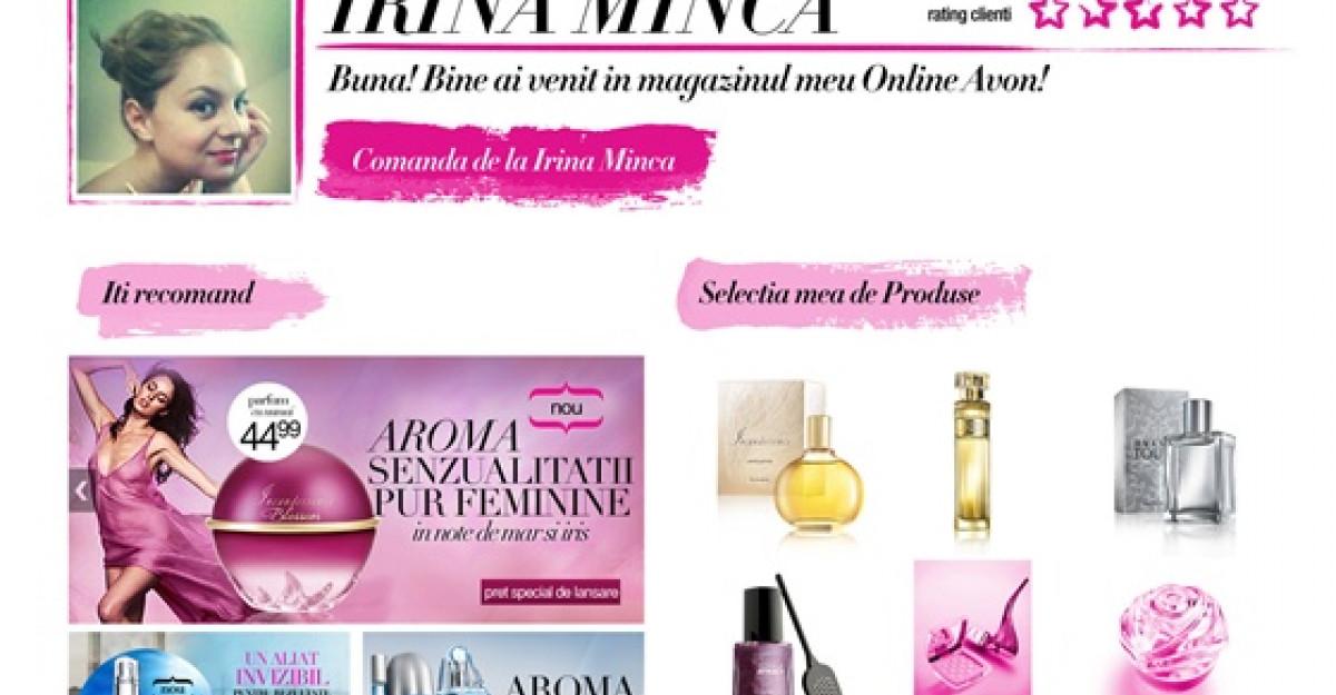 AVON lanseaza in Romania cel mai mare lant de magazine online