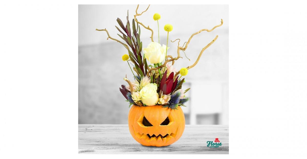 Buchete si aranjamente intunecate de Halloween de la Floria