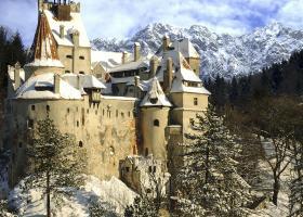 Peisaje de iarna din Romania care iti taie respiratia