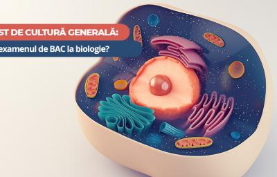 Test de cultura generala: Iei examenul de BAC la biologie?