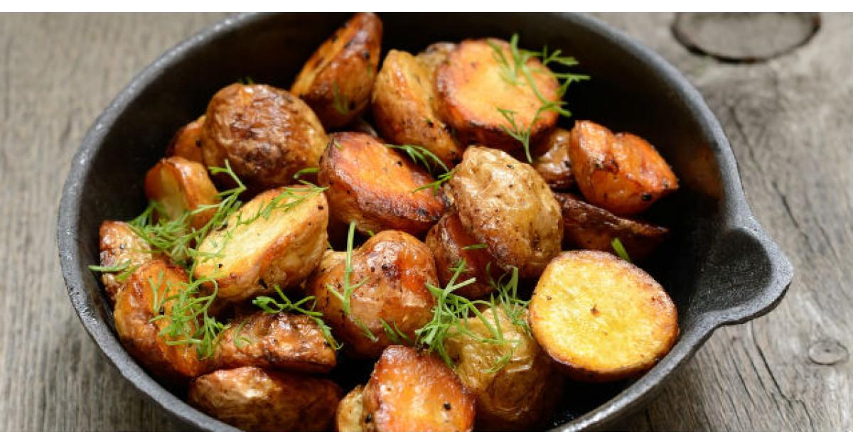 Secretul pentru a face cei mai buni cartofi copti! Este atat de simplu!