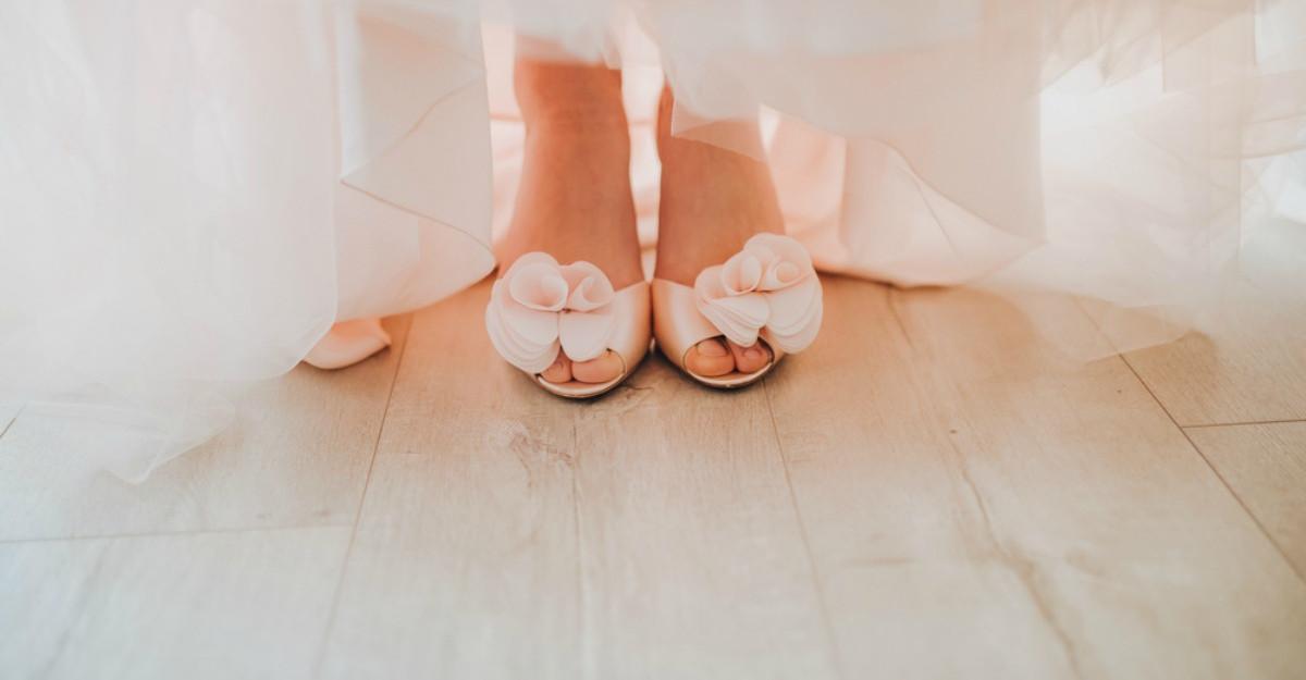 6 sfaturi pentru alegerea pantofilor de mireasă