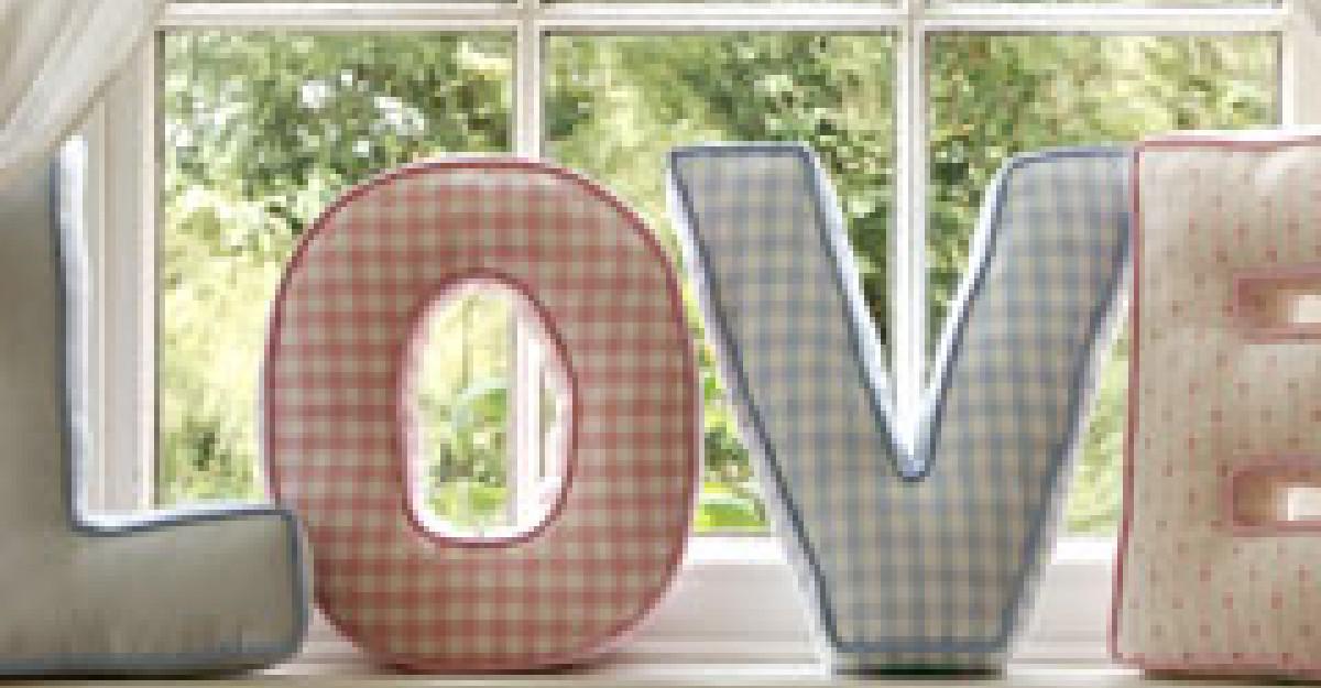 5 metode de a folosi literele, pentru a decora locuinta