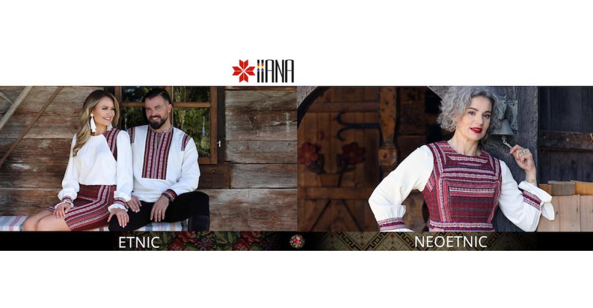 Arta broderiei populare. Cele mai interesante camasi traditionale la modă!