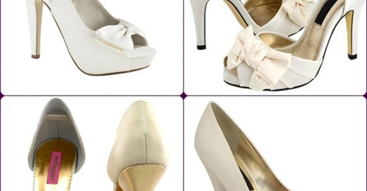10 Pantofi de mireasa spectaculosi