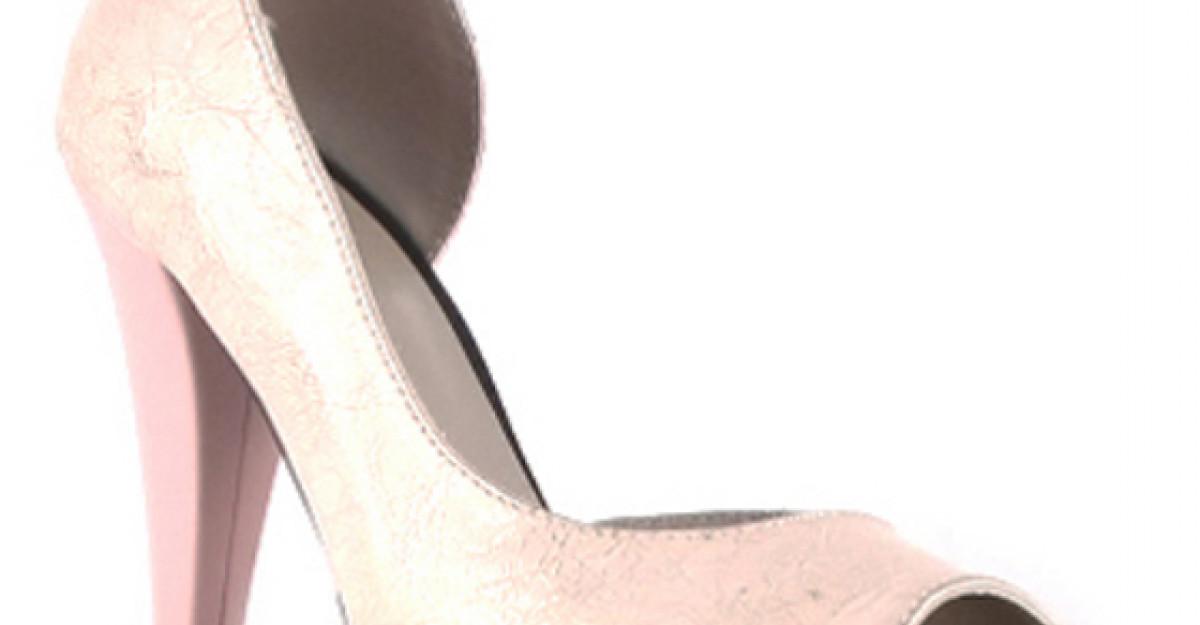 50 Pantofi de mireasa in nuante pastel