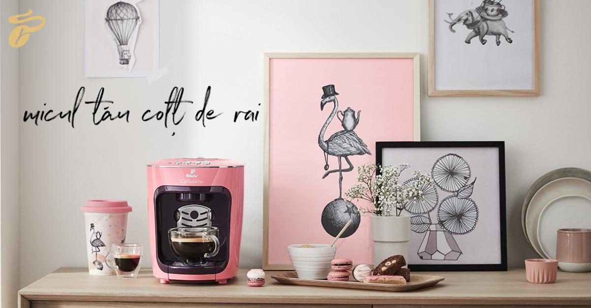 Descoperă colecția de espressoare Tchibo Cafissimo mini Pastel Edition, Made in Heaven!