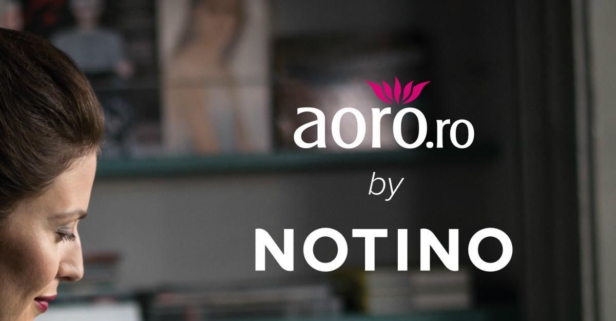 Aoro pregateste o noua experienta powered by NOTINO