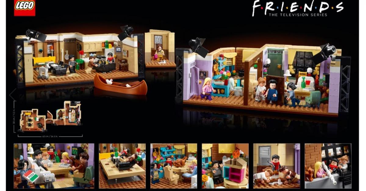 Episodul în care Grupul LEGO aduce emblematicele apartamente din Friends mai aproape de fanii serialului
