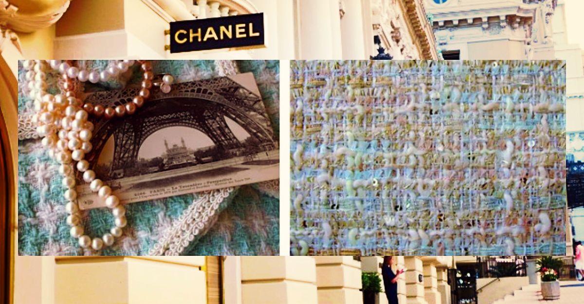 Cum se face stofa tip tweed marca Chanel