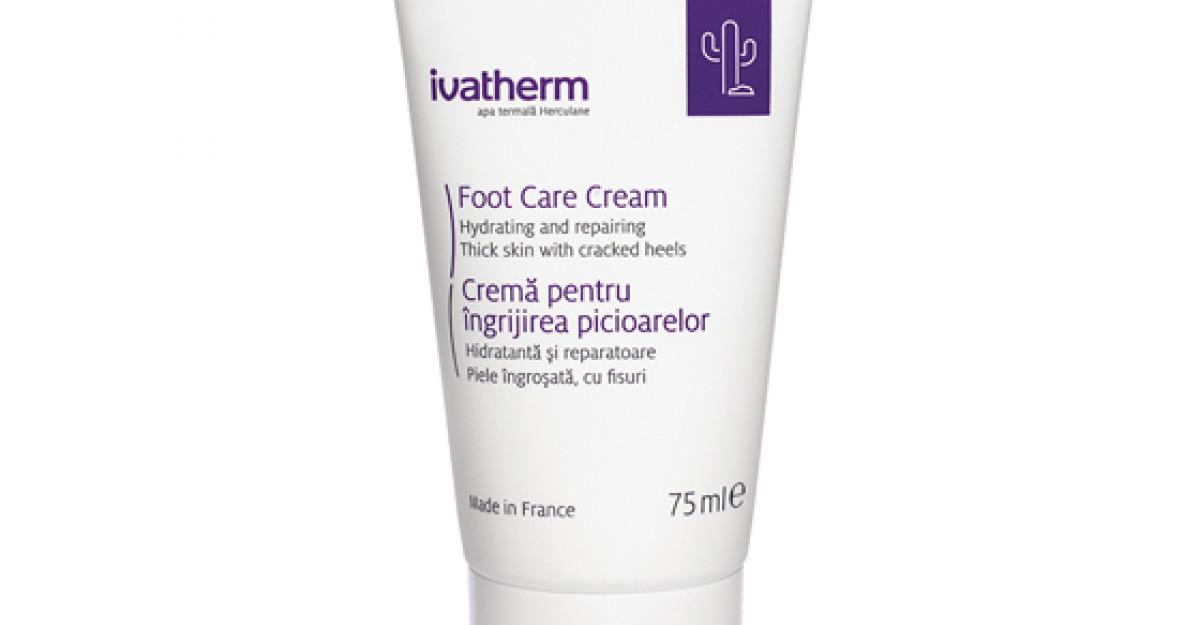 NOU produs Ivatherm: Crema pentru ingrijirea picioarelor