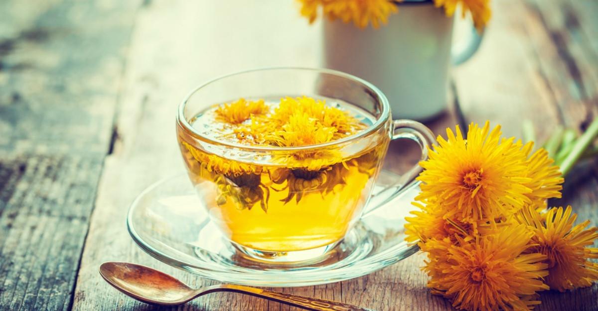 Ceaiul de papadie: beneficii pentru sanatate