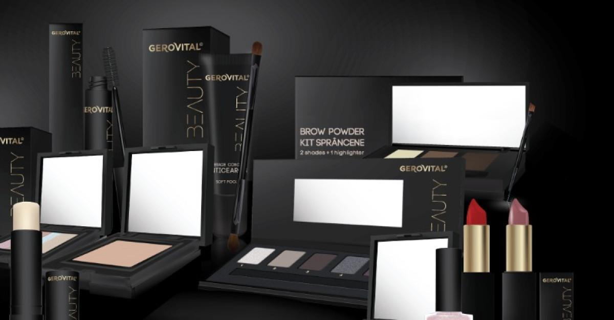 Farmec incepe 2018 cu o premiera: lansarea gamei de cosmetica decorativa Gerovital Beauty