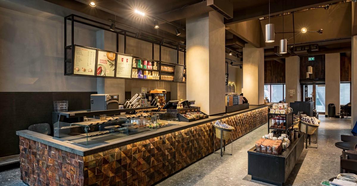 Noua cafenea Starbucks Reserve s-a deschis în centrul Bucureștiului