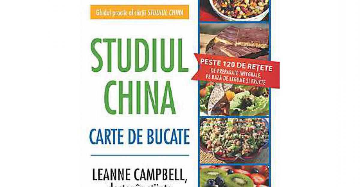 Studiul China. Carte de bucate