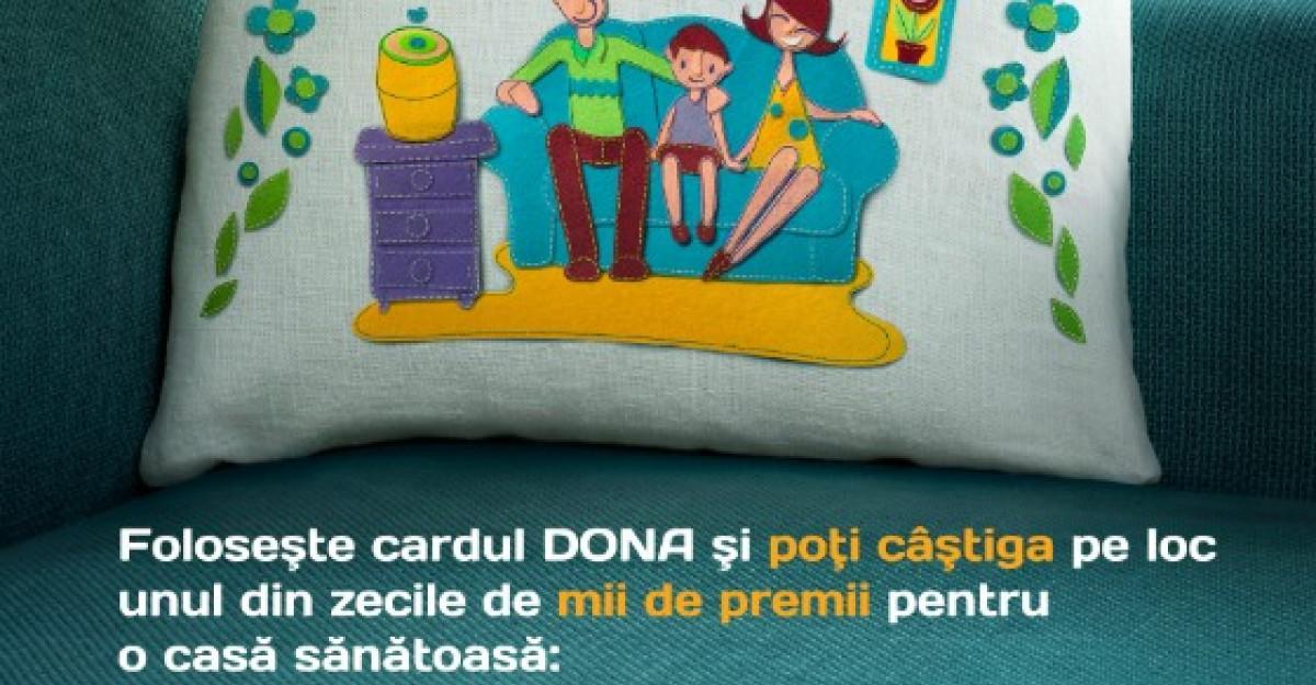 DONA a lansat campania de iarna Casa, dulce casa sanatoasa!