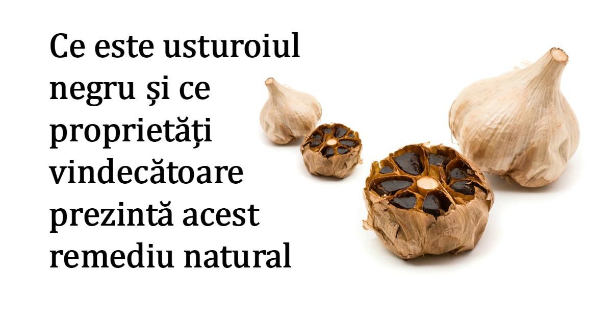 Usturoiul NEGRU: remediul vechi de mii de ani