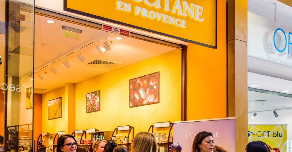 L'Occitane sarbatoreste redeschiderea magazinului din galeria Feeria