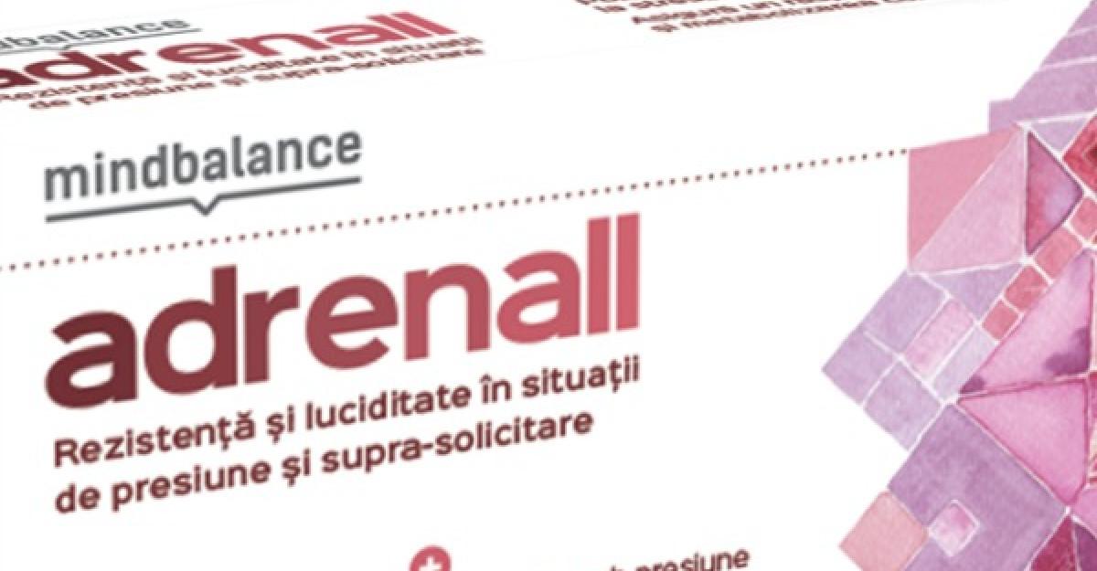 MINDBALANCE lanseaza ADRENALL
