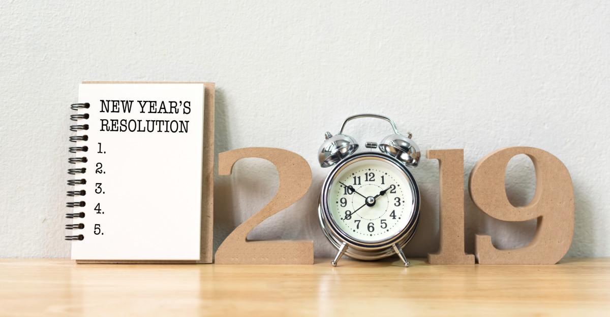 Rezoluții pentru anul 2019 care îți vor schimba viața