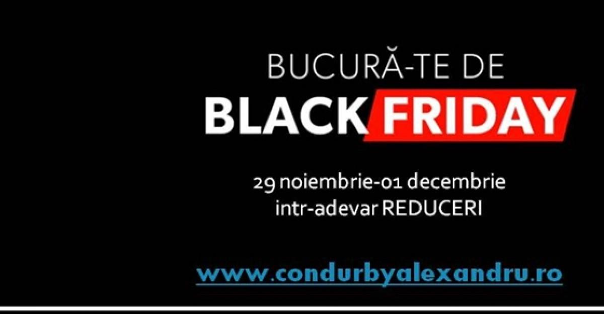 CONDUR by alexandru lanseaza campania BLACK FRIDAY