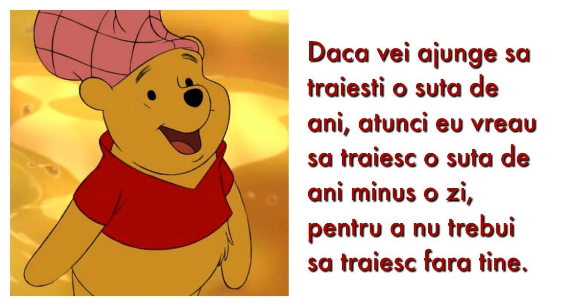 11 citate din Winnie The Pooh care iti vor pune zambetul pe buze