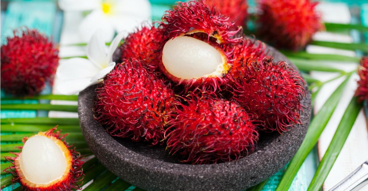 Ce este, de fapt, RAMBUTANUL, fructul bizar care se gaseste si in Romania