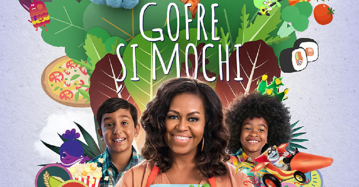Netflix lanseaza trailerul Waffles + Mochi/ Gofre + Mochi, noua serie originala cu Michelle Obama