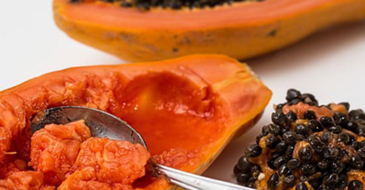 Semintele de Papaya: curata ficatul, rinichii si sangele