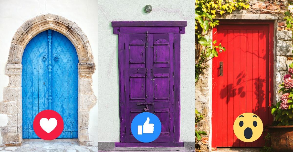 Alege o ușă și află de ce ai nevoie ca să întâlnești fericirea