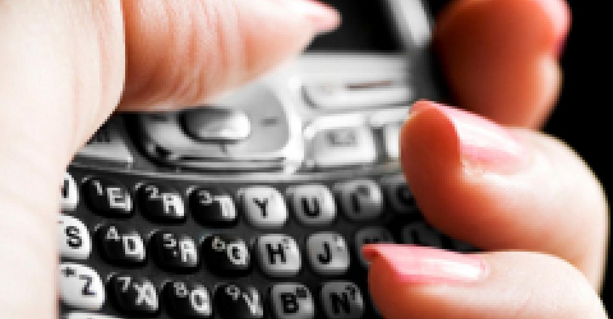 5 tipuri de SMS: Interpretarea mesajelor pe care ti le trimite
