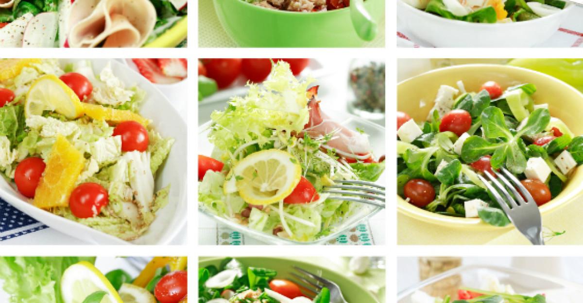 Foto: Salata care poate inlocui o masa