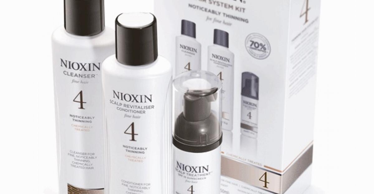 Kitul Nioxin pentru tratarea parului subtire