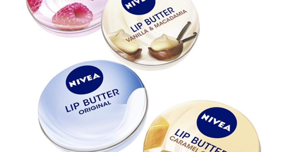 NIVEA Lip Butter: Rasfat delicios pentru un zambet seducator