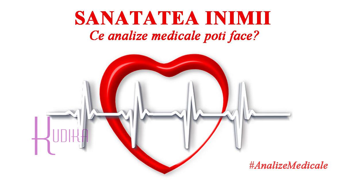 6 Analize medicale pentru INIMA