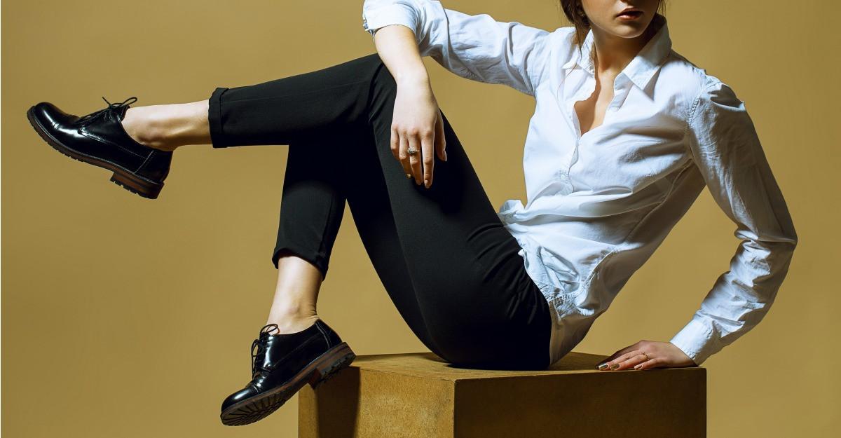 Pantofii barbatesti - in tendinte de moda feminina