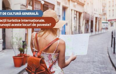 Test de cultura generala: Atractii turistice internationale