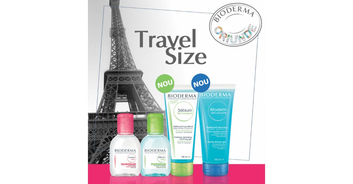 Bioderma Travel size ORIUNDE alaturi de tine!