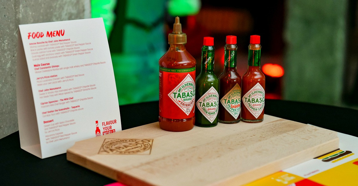 TABASCO Sos – tradiție, gust și versatilitate