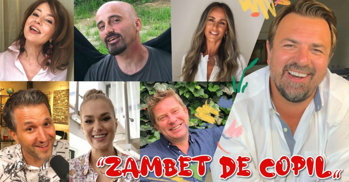 De Ziua Internațională a Copilului Horia Brenciu a lansat melodia Zâmbet de copil