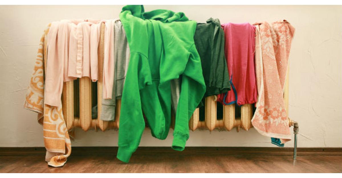 Nu iti usca rufele in casa, pe calorifer! Iata ce boli grave risti