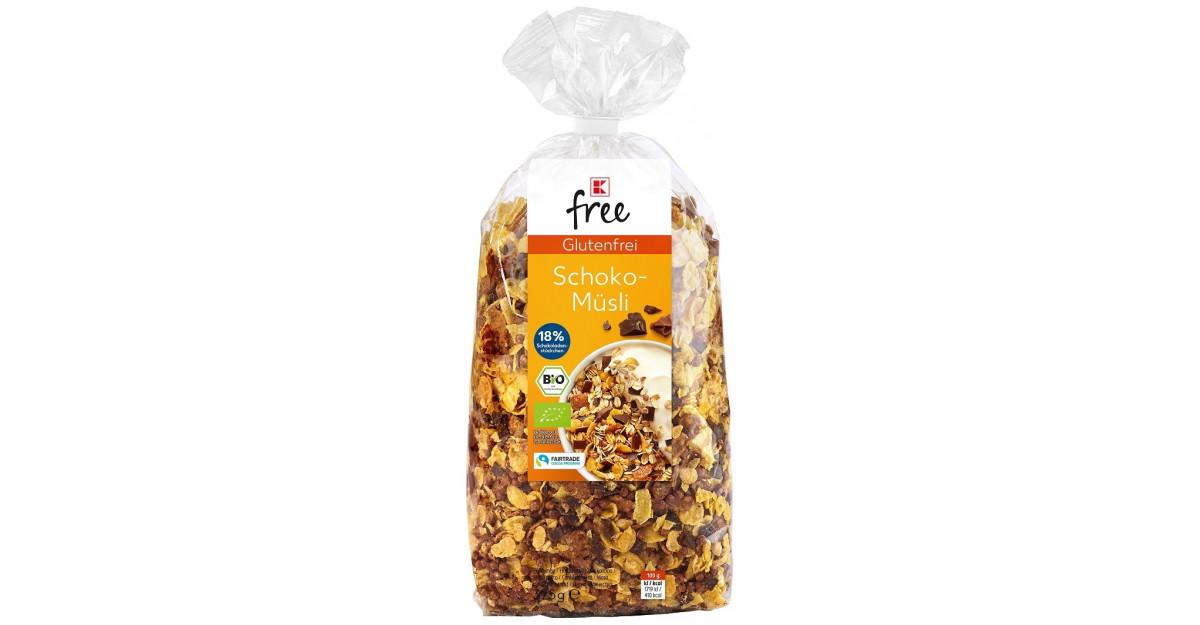 K-free: Noua marcă proprie Kauflandde produse fără gluten sau fără lactoză